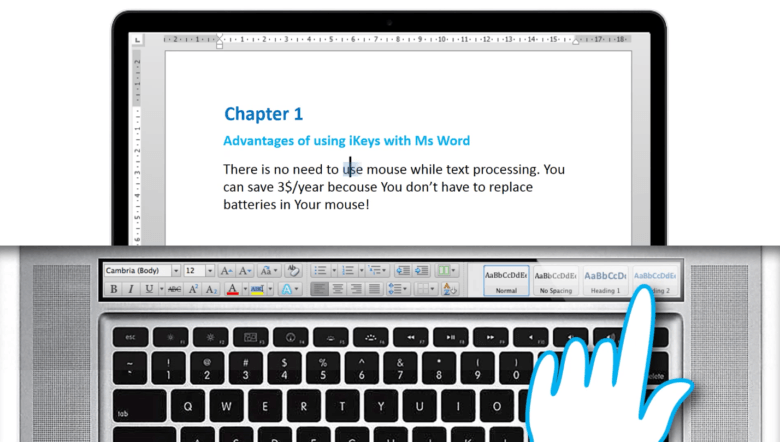 Everything you need in Microsoft Word.