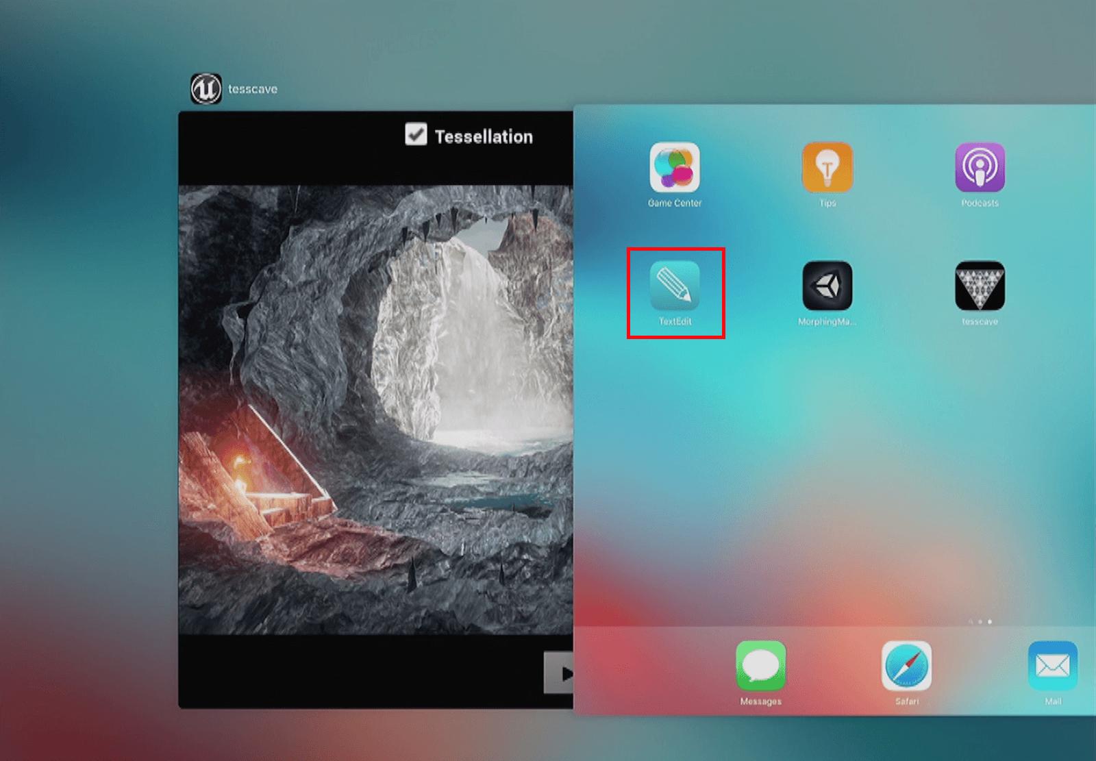 TextEdit-iPad