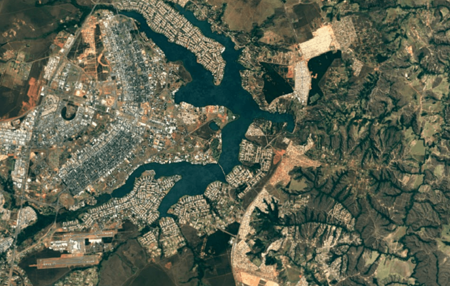 Google Earth looks gorgeous... in places.
