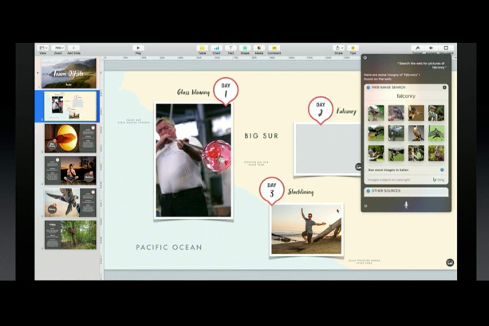Siri on Mac is good for productivity tasks like creating documents.