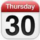 Thursday 30
