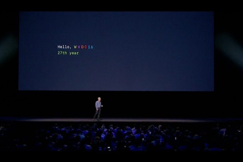 Apple lays out the future of its evolving ecosystem at WWDC 2016.