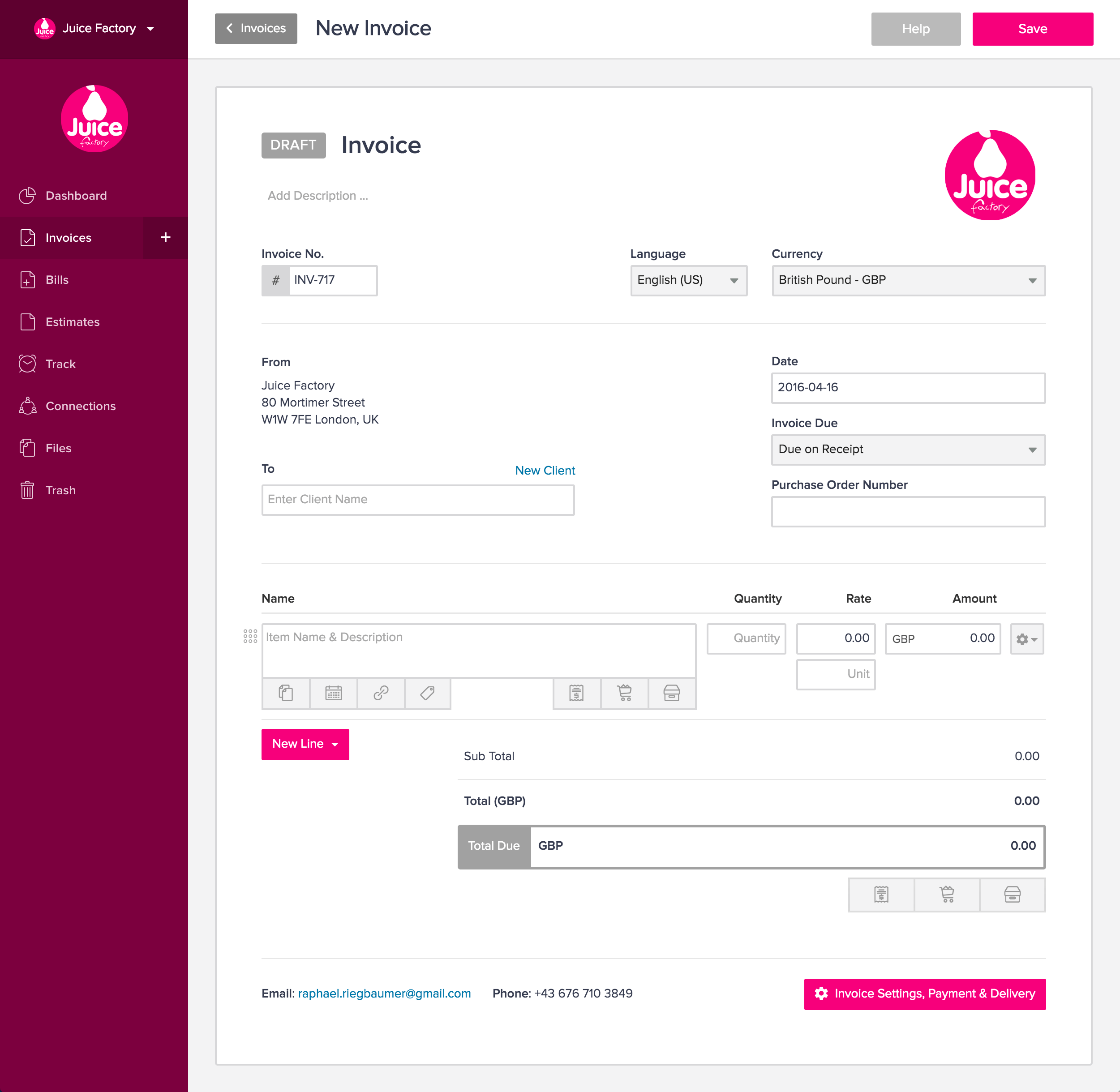 Invoicely Is Invoicing Innovation That Freelancers Will Appreciate - Tophatter com invoices