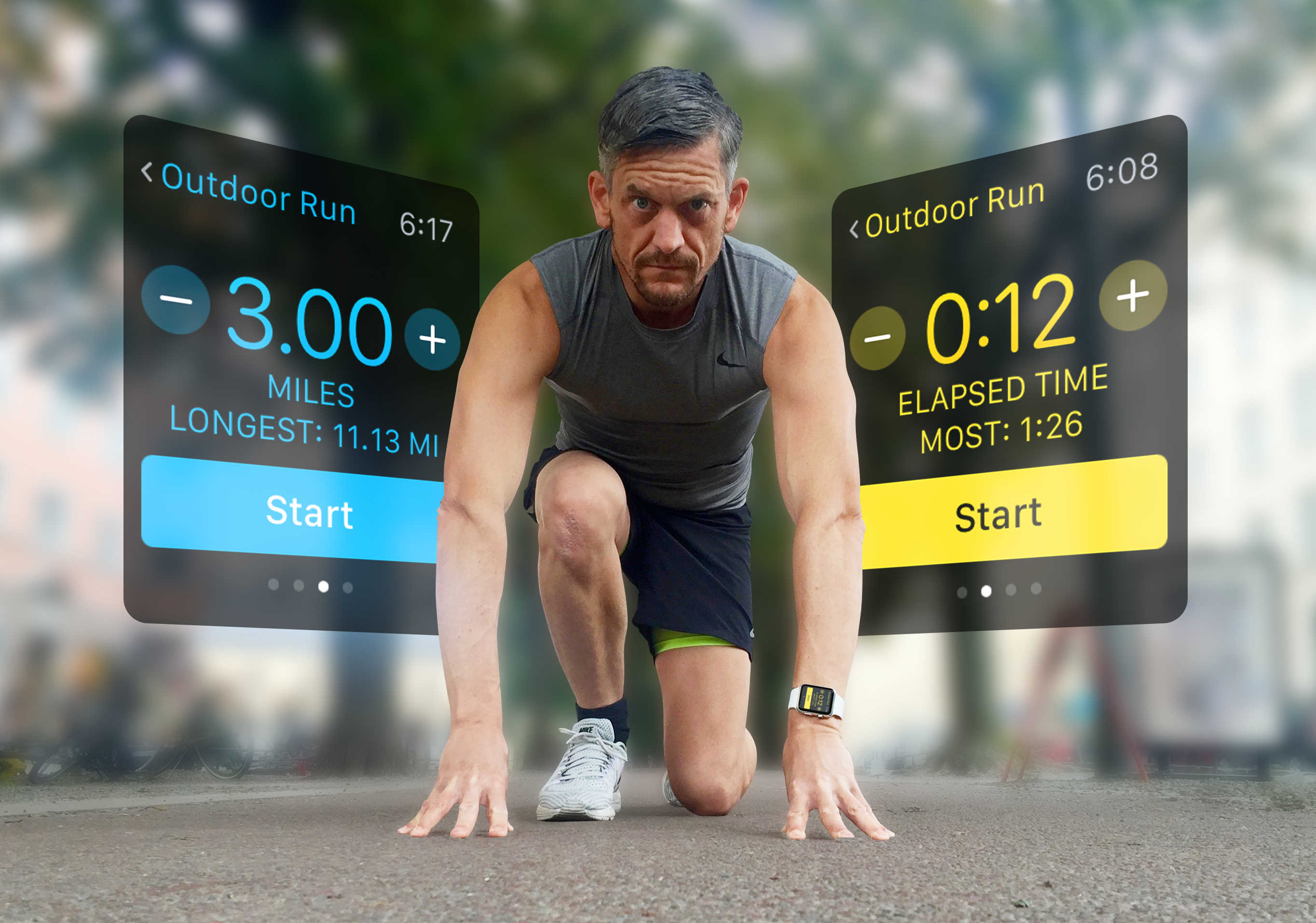 Get set to test yourself to the limit with your Apple Watch.
