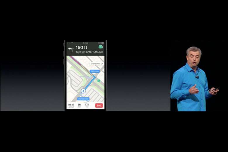 Apple Maps has some new tricks in iOS 10.