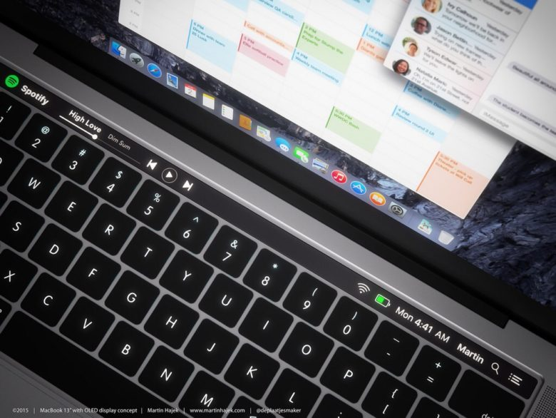 Adding an OLED touchpad could make the MacBook Pro even more magical.