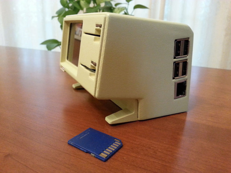 The Apple Lisa may not have been a success, but Mangin's mini version makes a swell SD card reader.
