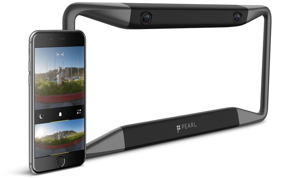 Pearl's RearVision adds a camera to your car.