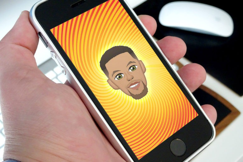 hot sales 15a6f cb87e NBA star Steph Curry s emoji app is dominating the App Store