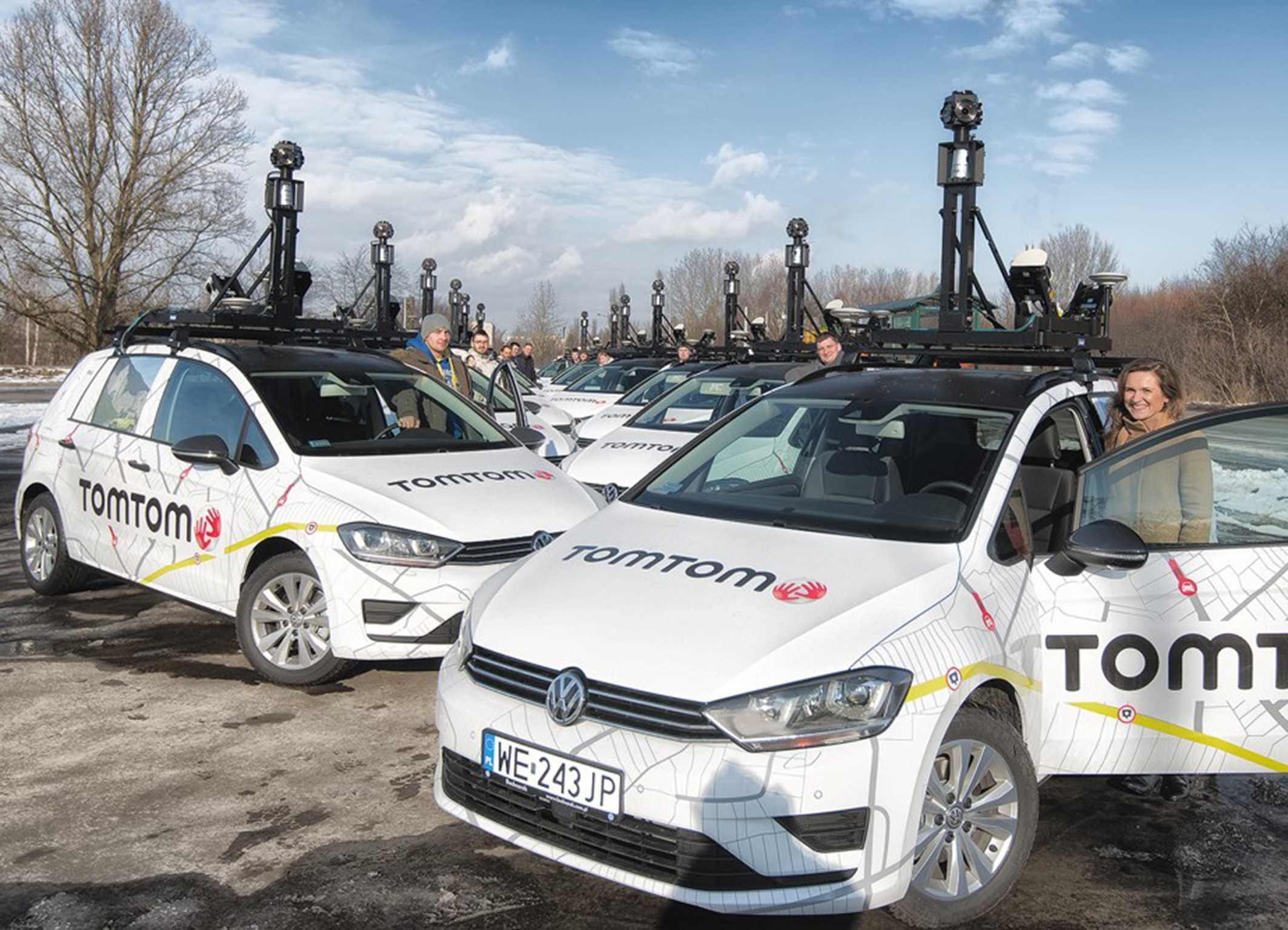A fleet of vehicles from Bosch/TomTom are creating multilayered maps for autonomous driving.