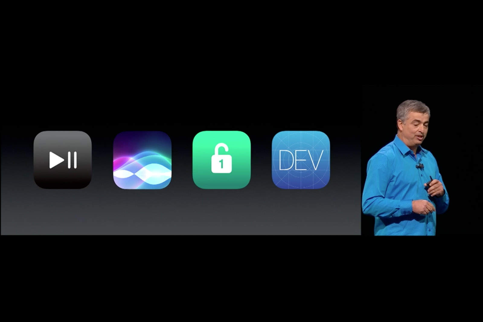 Eddy Cue unveiled the future of tvOS.