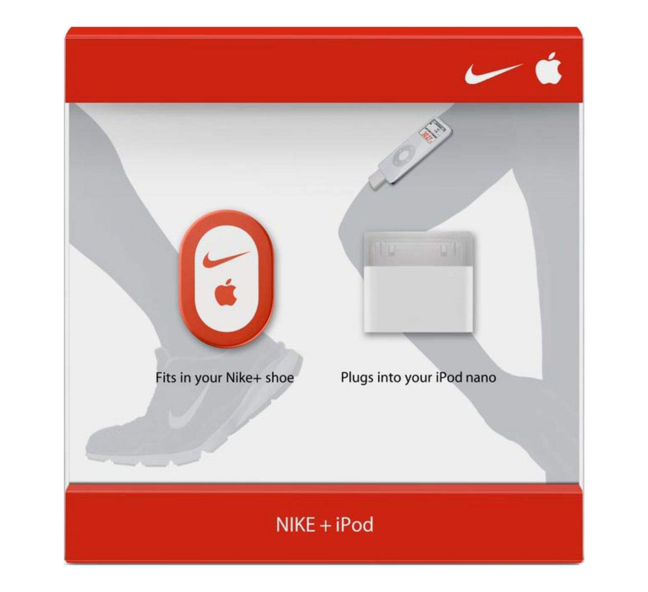 The 'plus' in Nike+ originally meant Nike+iPod