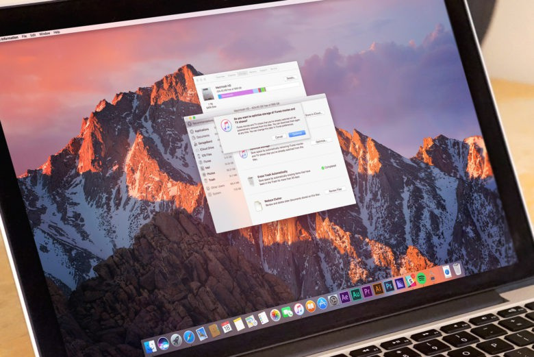 macOS Sierra: How to use Optimized Storage to make space
