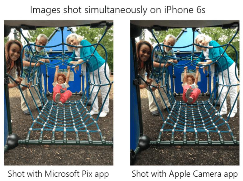 Microsoft Pix comparison