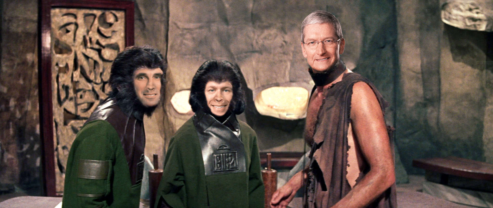 planet of the apes with tim cook