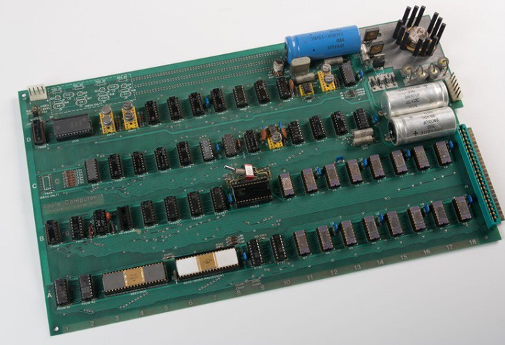 This Apple 1 board is one of a kind.