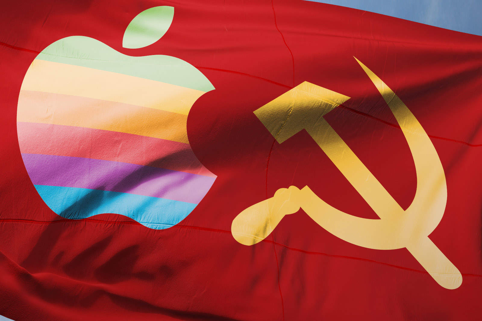 Soviet Apple flag