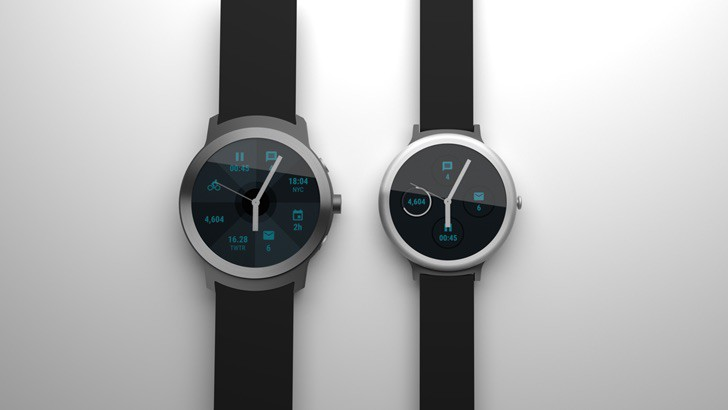 Photo of two alleged Google Nexus smartwatches