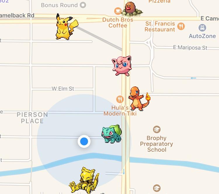 poke radar screen shot