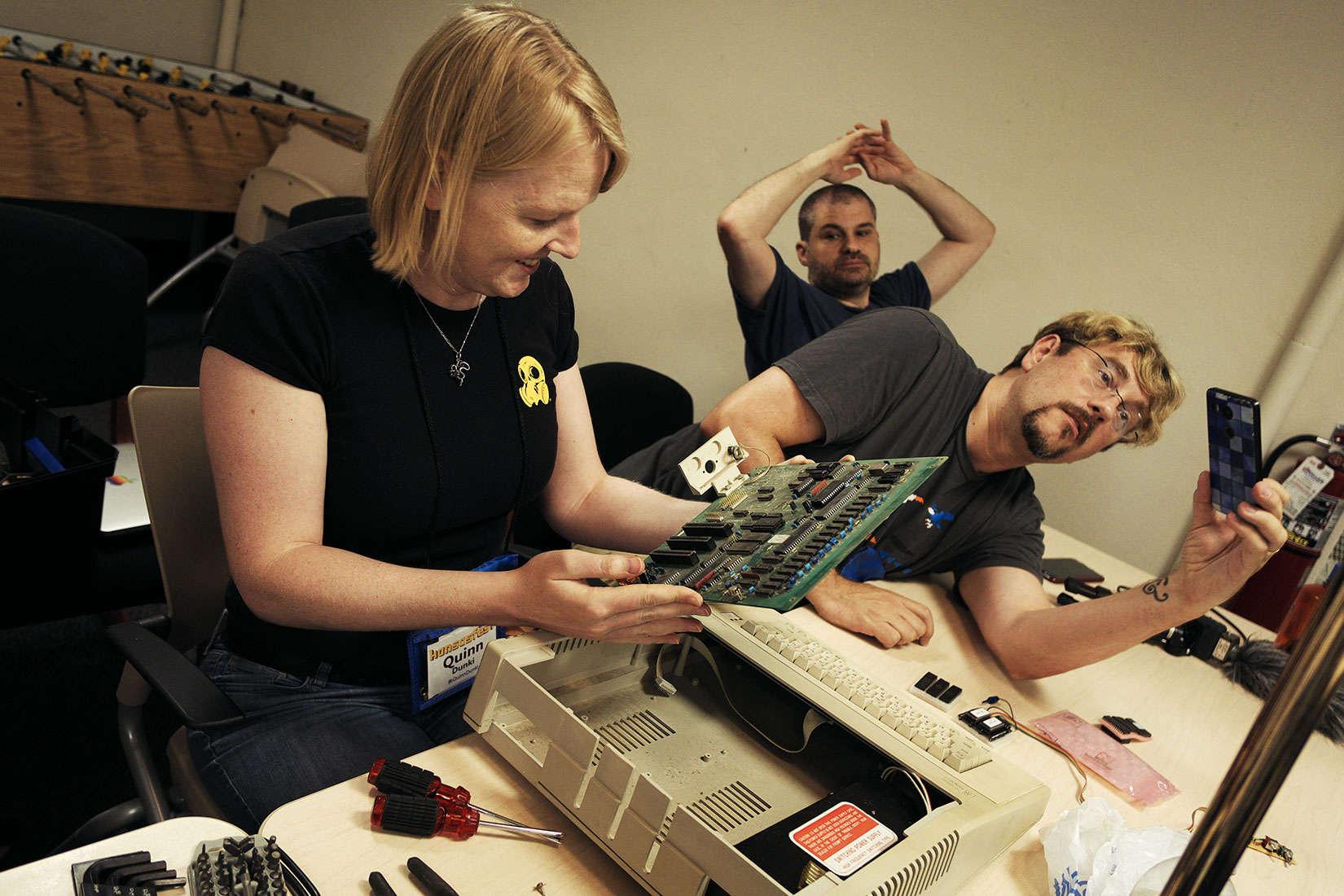 KansasFest soldering 1