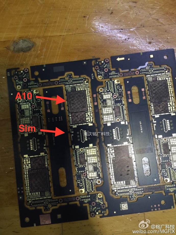 iPhone 7 logic board