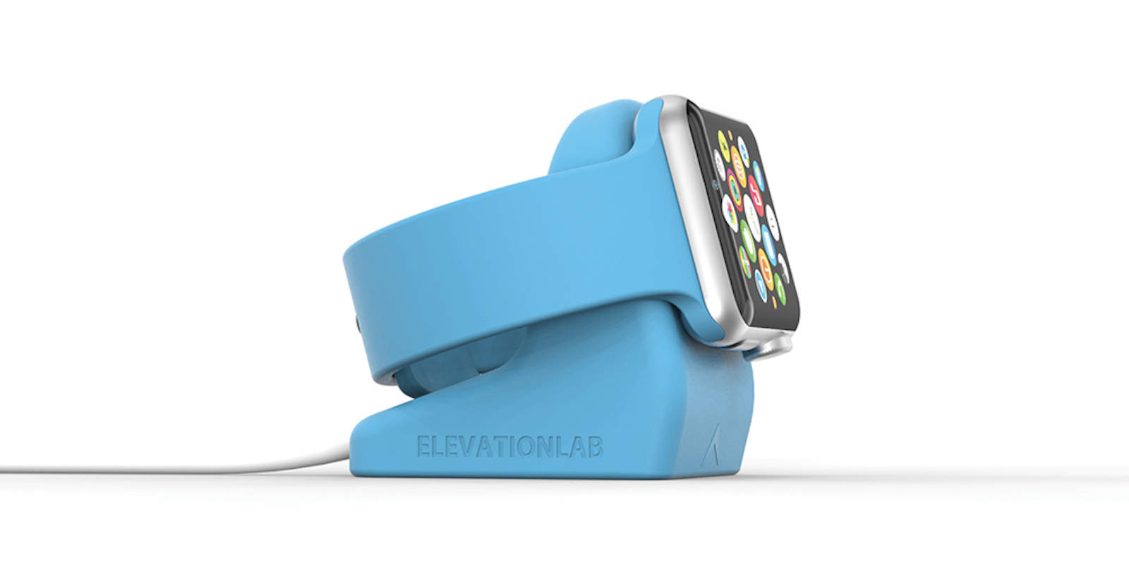 Charge your Apple Watch in style with the meticulously engineered NightStand.