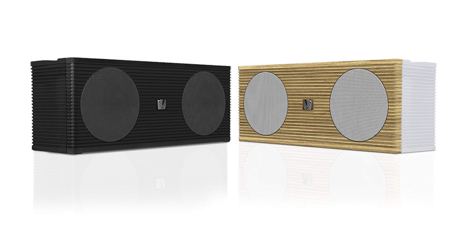 Carry your sounds around in style with this award winning Bluetooth speaker.