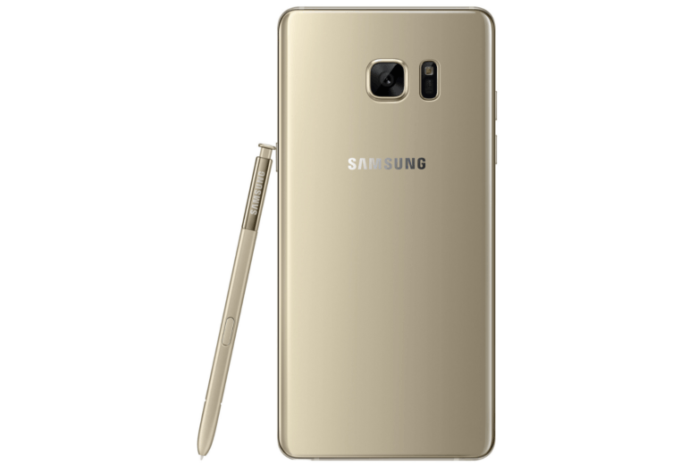 Galaxy Note 7 back