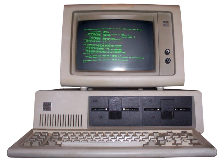 today in apple history ibm personal computer means war for apple