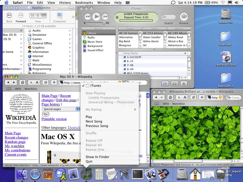 Today in apple history os x jaguar roars onto mac for Raumgestaltung mac os x