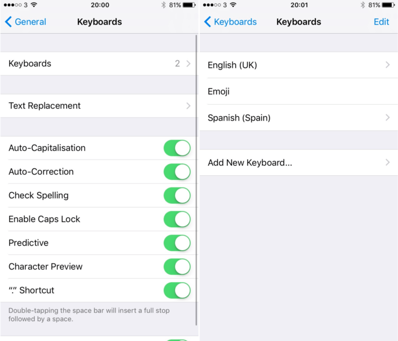 How To Setup Multilingual Typing In Ios 10