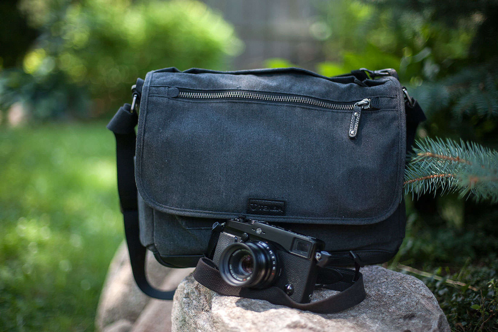 The camera bag that does the job without announcing itself, the Tenba Cooper.