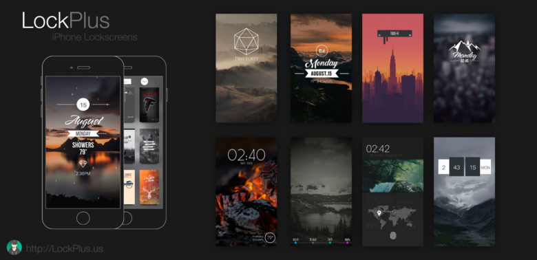 LockPlus, created by Jr, allows users to download thousands of different lock screen setups.