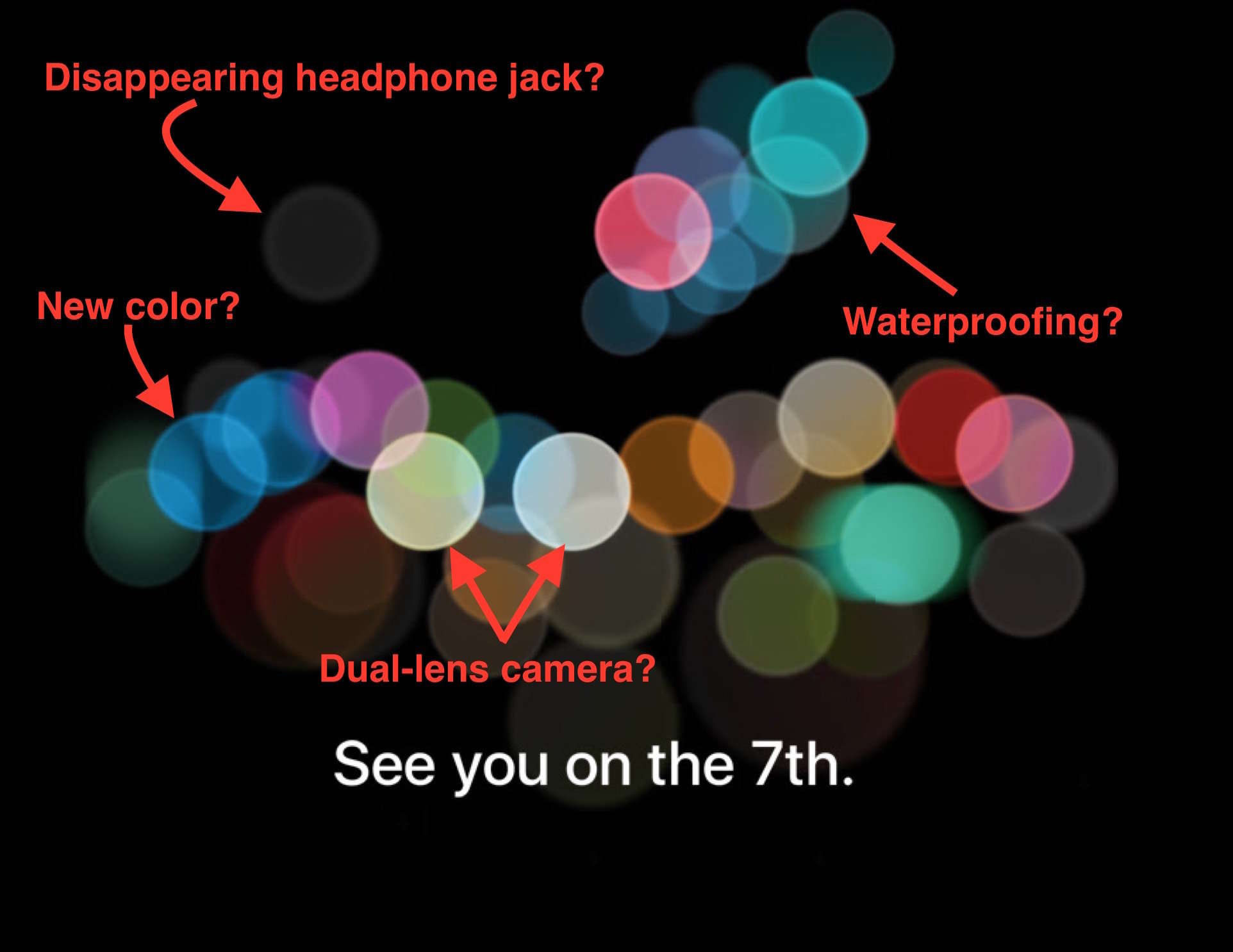 What do you see in Apple's invite?