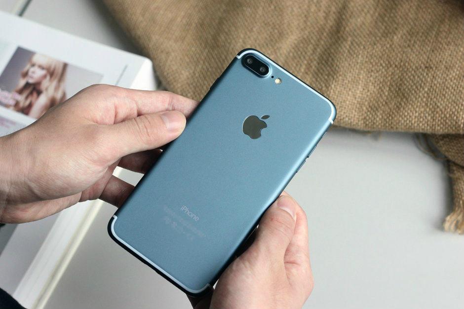 blue iPhone 7 Plus