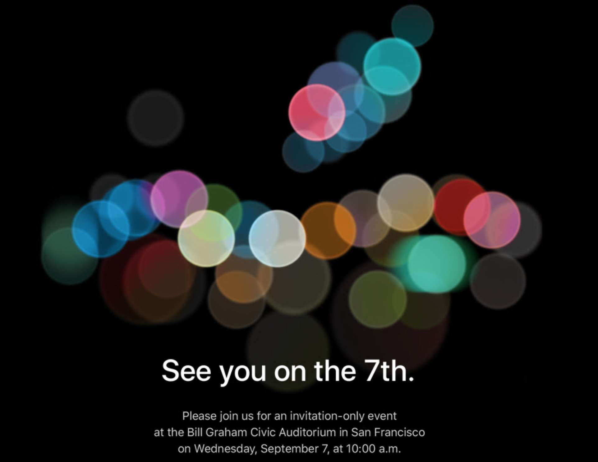 Apple is hosting another keynote.