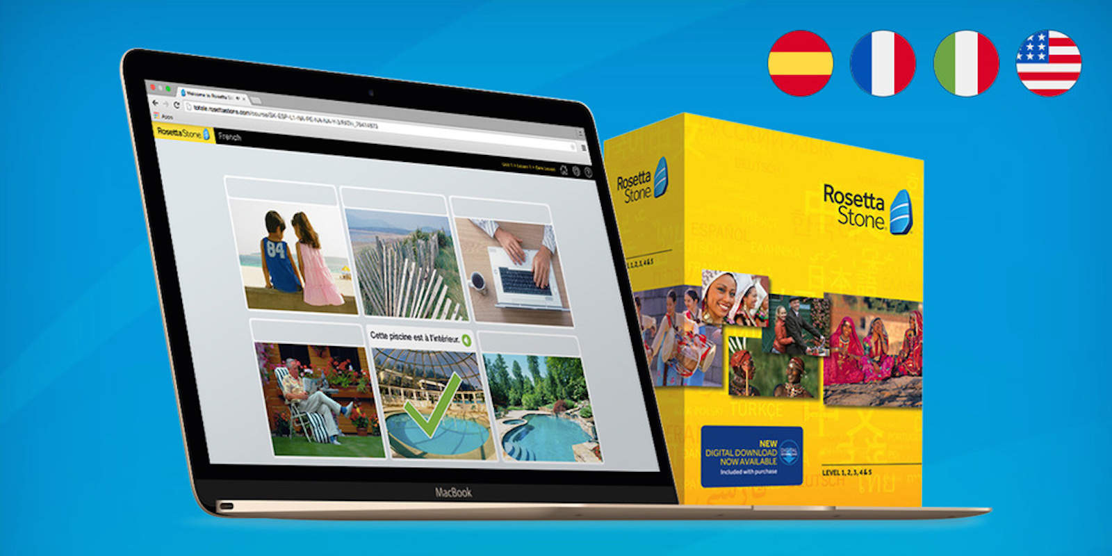 Rosetta Stone set the standard for language learning software, and this box set shows why.