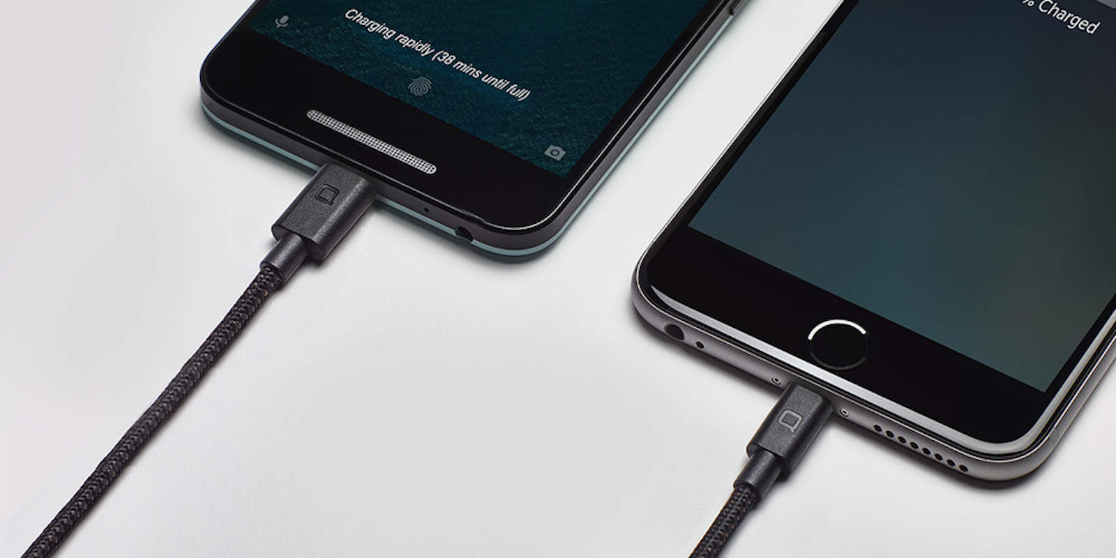 This kevlar-encased Lightning cable is built to last.