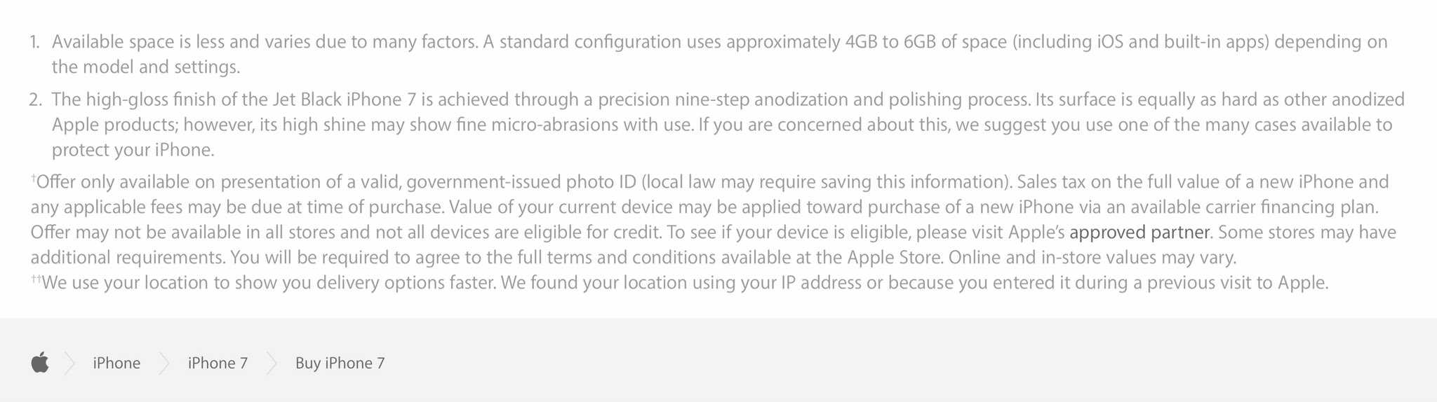 iphone 7 details