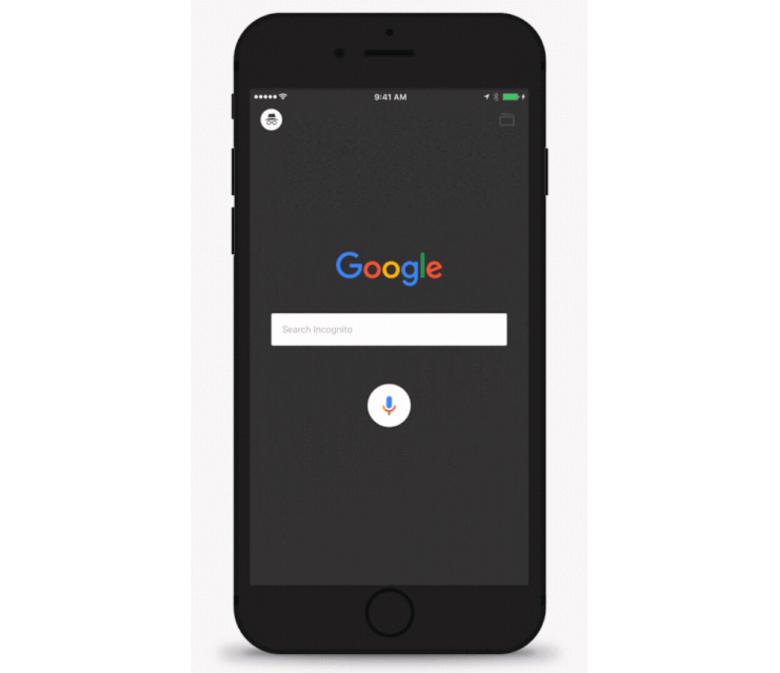 Google app incognito mode