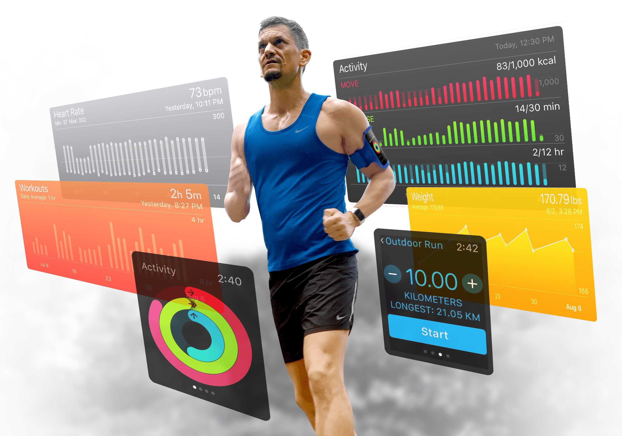 Get in shape with your new Apple Watch