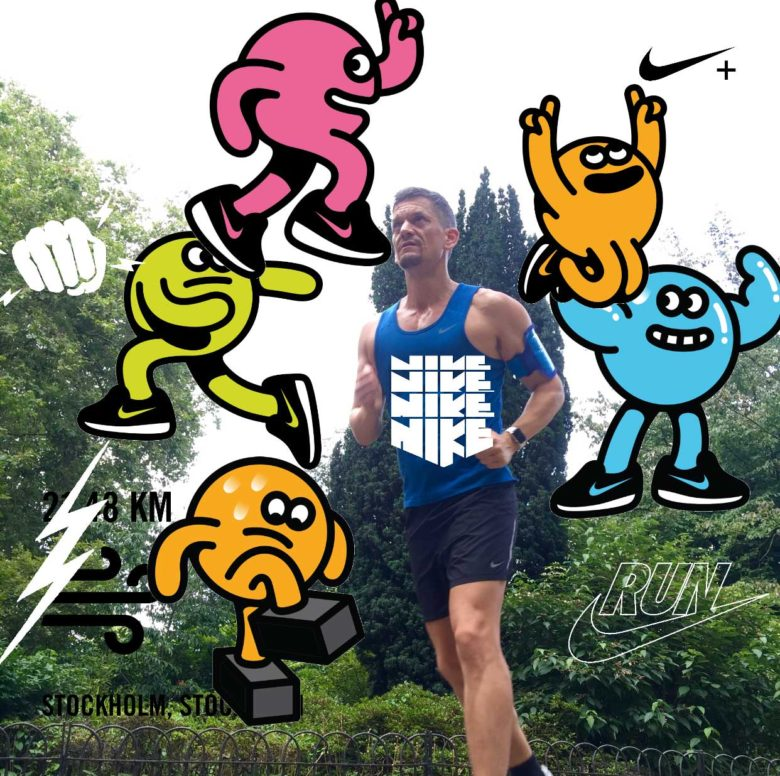 Nike has turned its running app into a dodgy mashup of Instagram and Snapchat