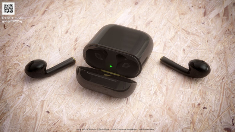 Jet Black AirPods would have been amazing.