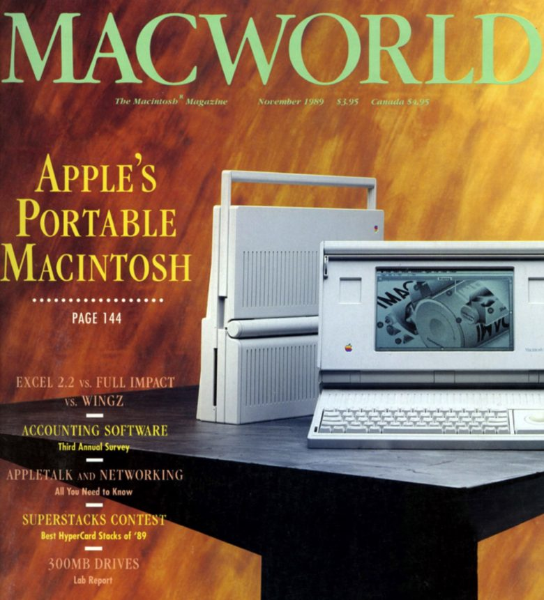 The Macintosh Portable presaged Apple's move into mobile
