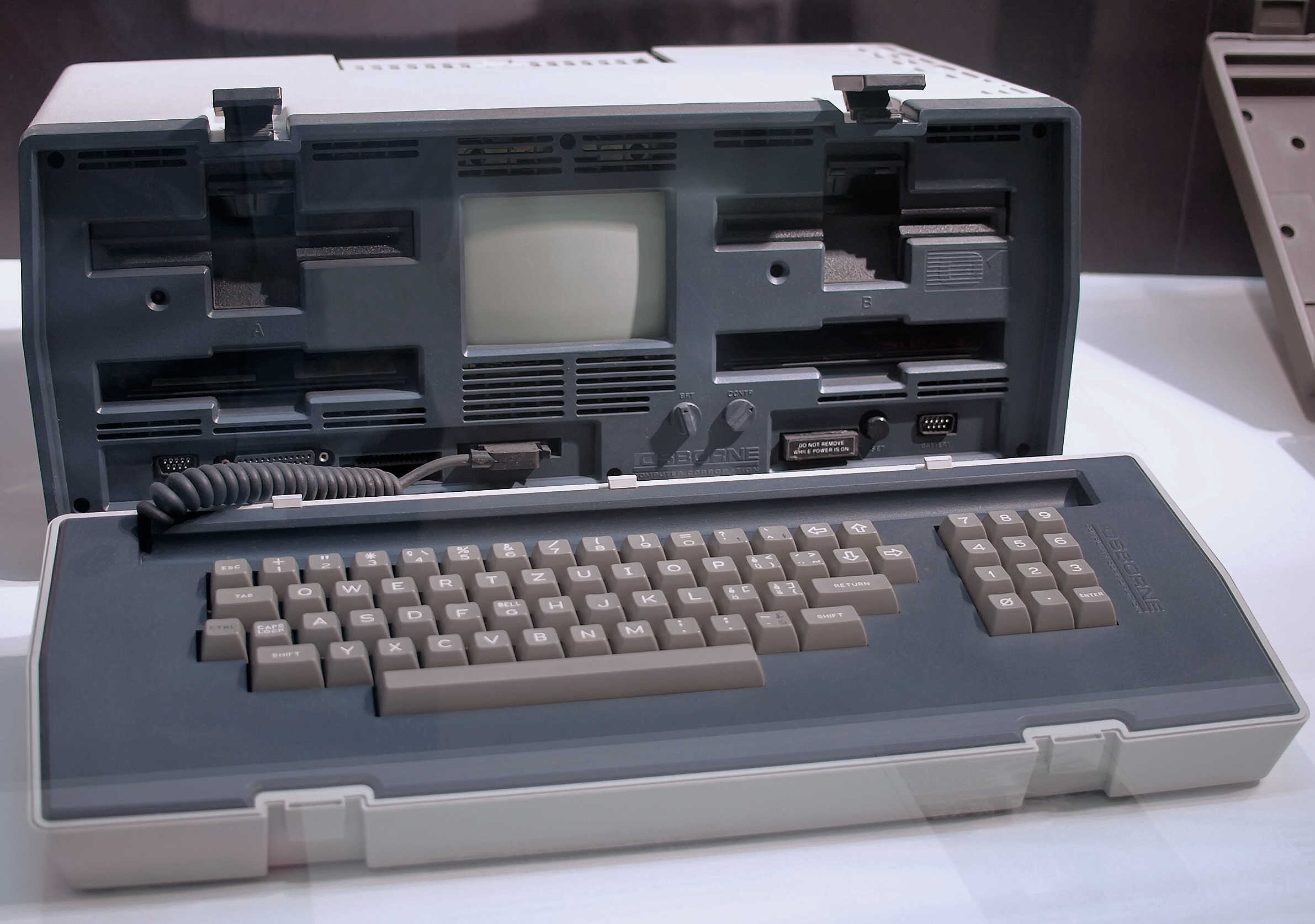 The Osborne 1 portable computer proved ahead of its time.
