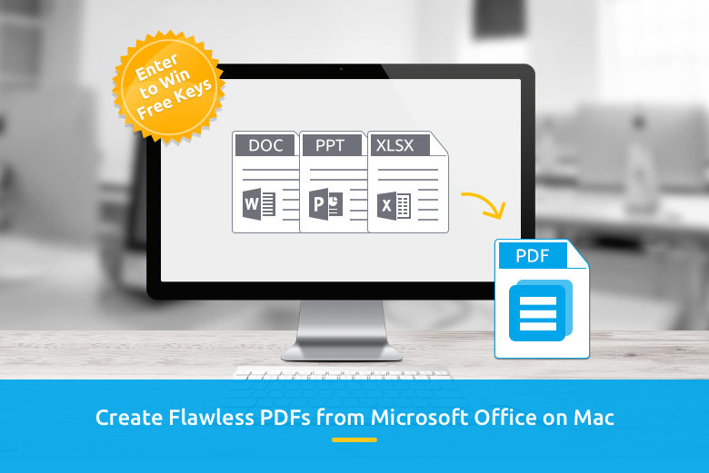 Create PDFs from Office files with PDF Creator for Mac