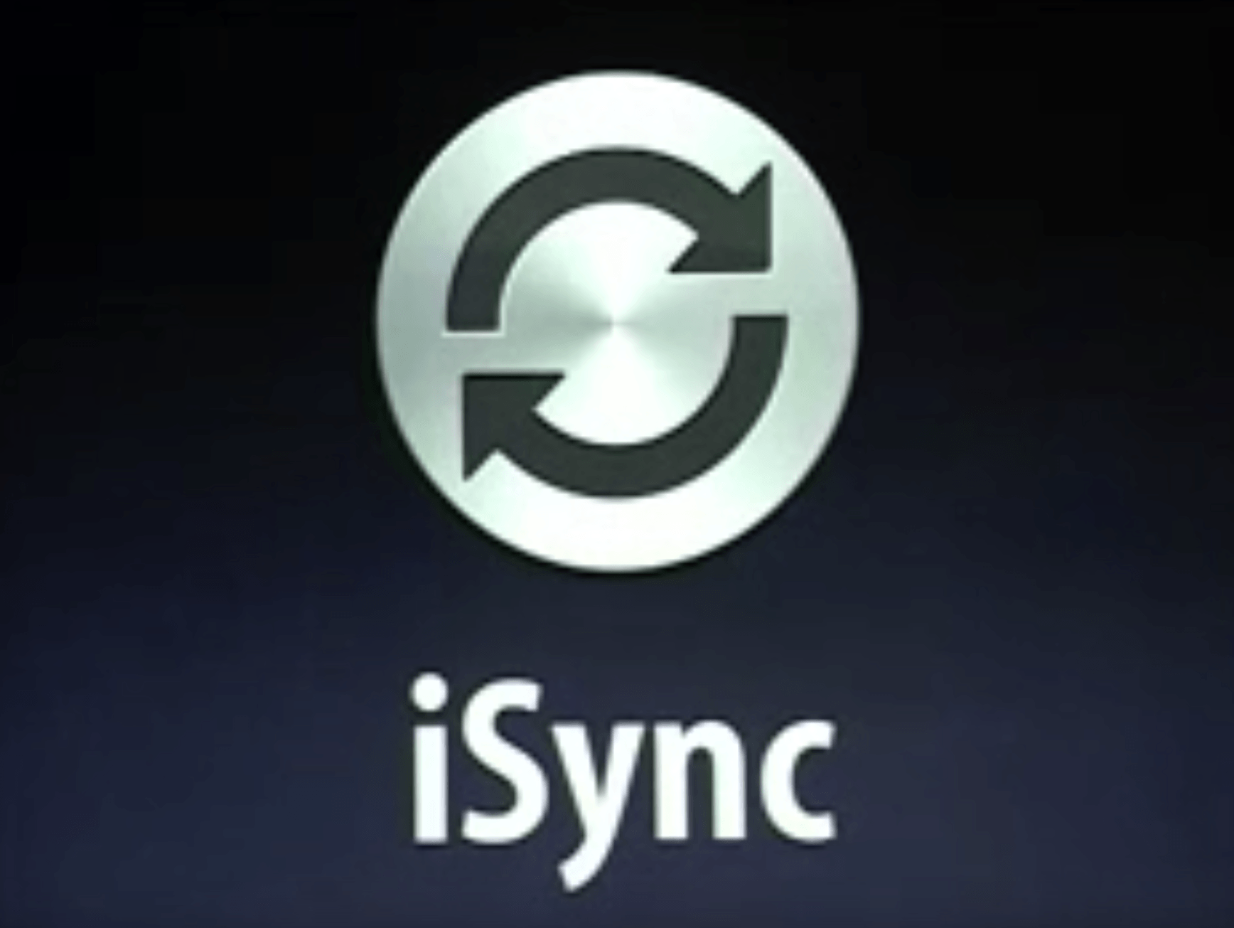 iSync was a killer app for its time.
