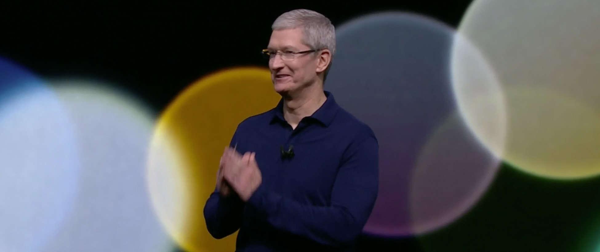 Tim Cook iPhone 7 event