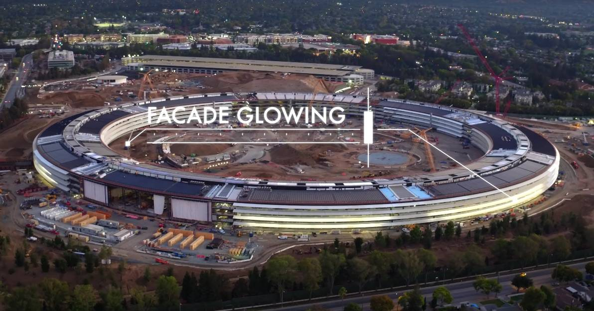 Apple HQ is nearly ready for liftoff.