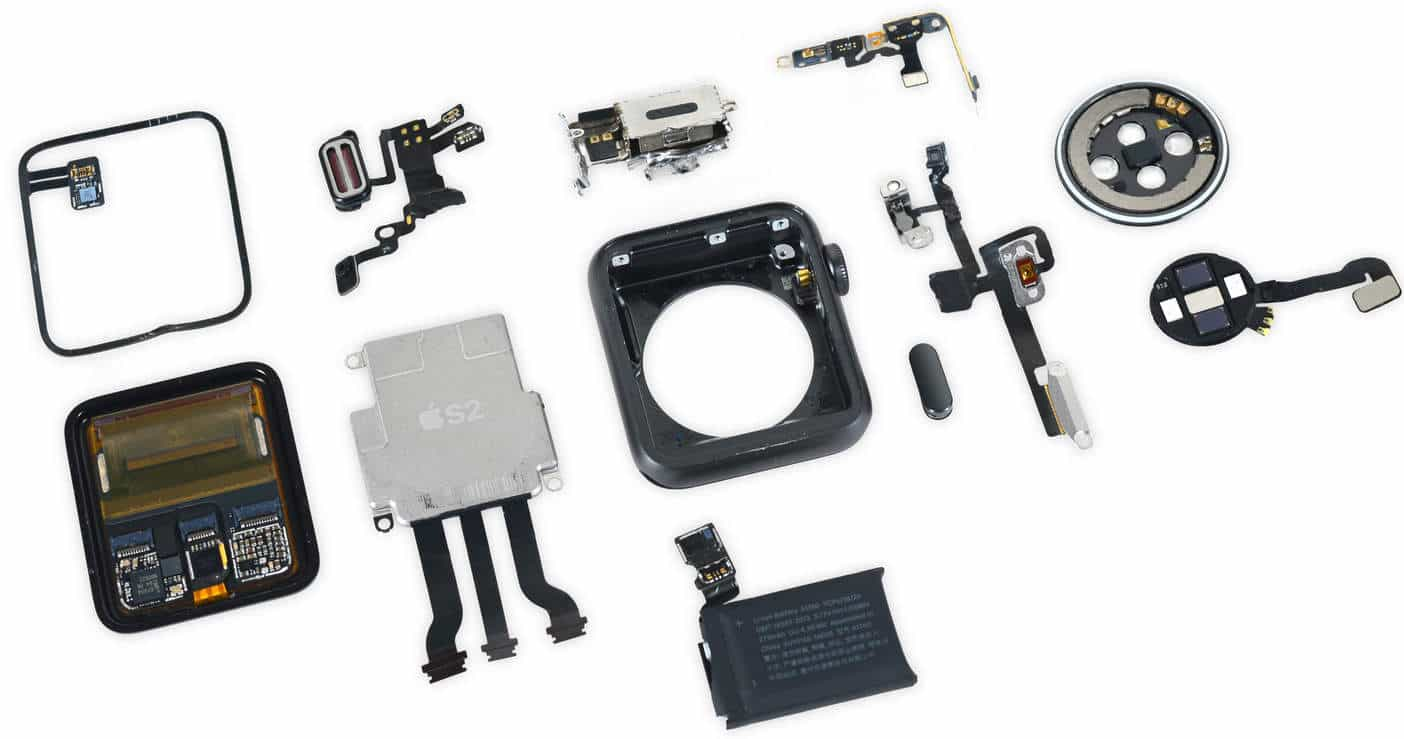 apple watch 2 dissected